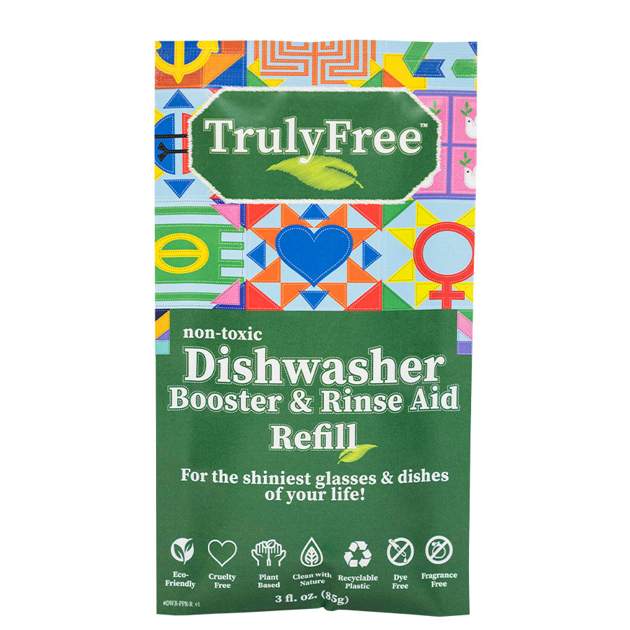Dishwasher Booster and Rinse Aid