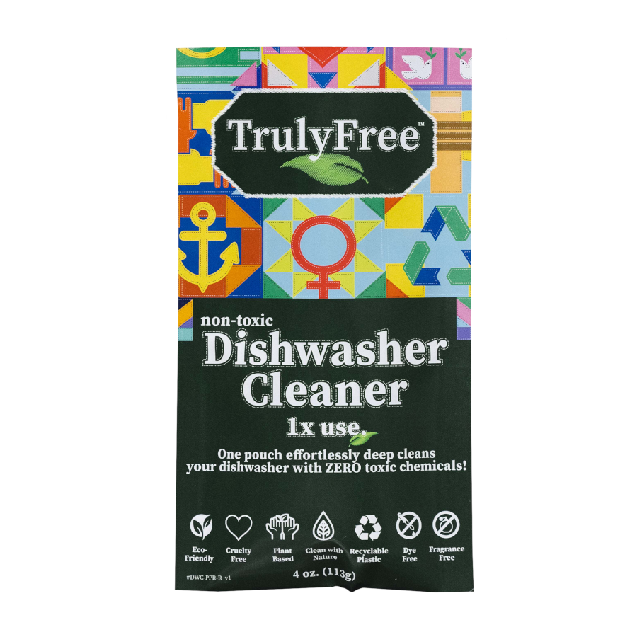 Non-Toxic Dishwasher Cleaner Lemon