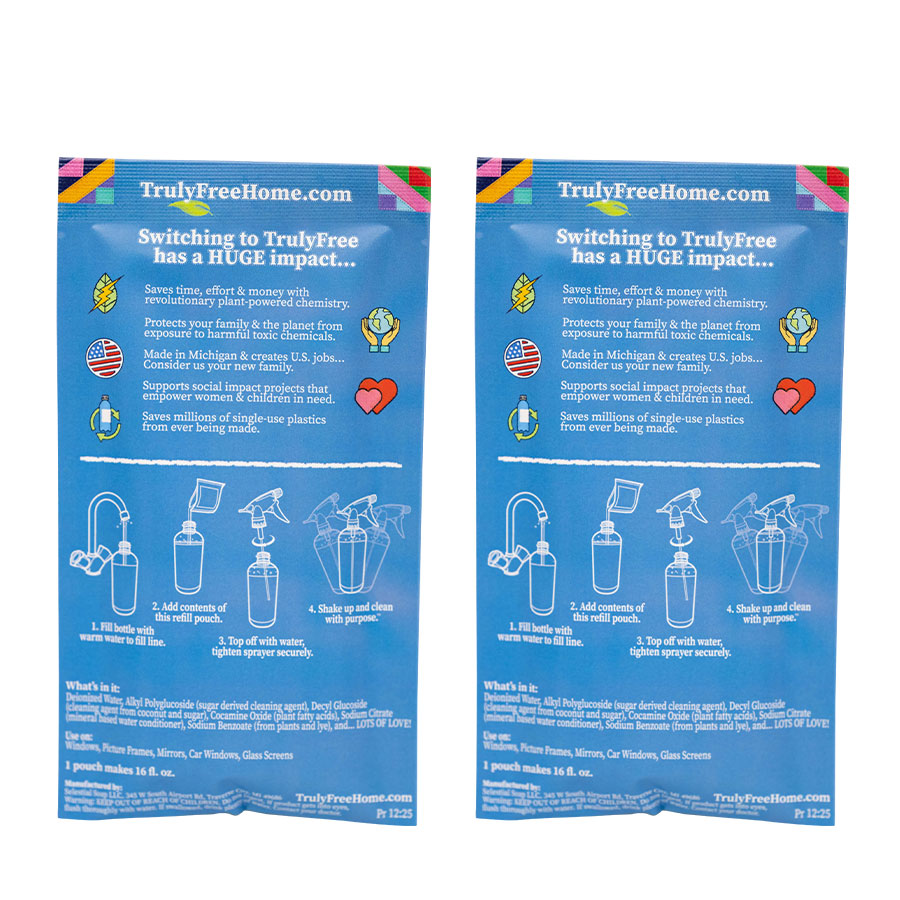 2 Pack Glass Cleaner