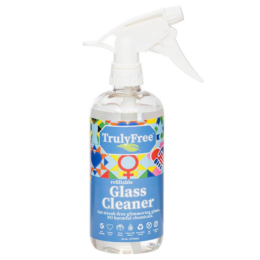 Glass Cleaner Bottle