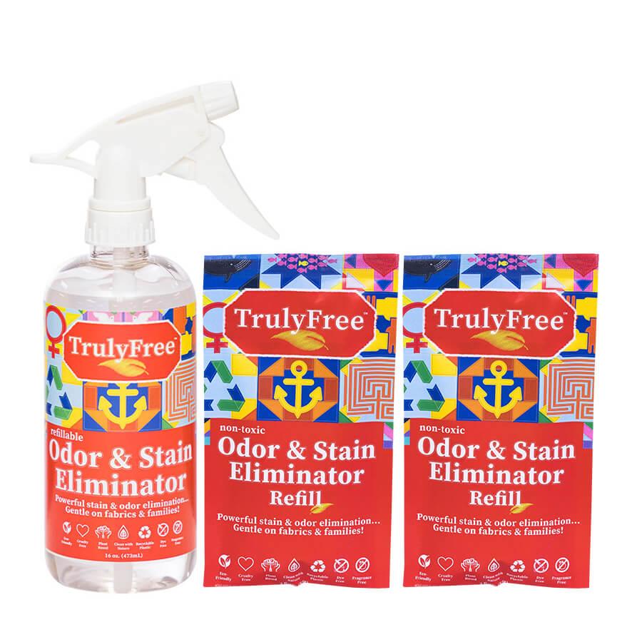 2 Pack Odor & Stain Eliminator