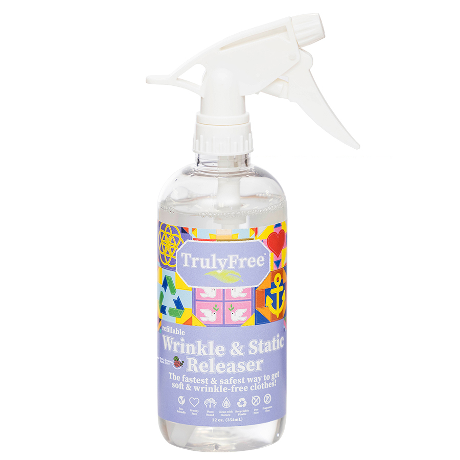 Wrinkle and Static Releaser Bottle