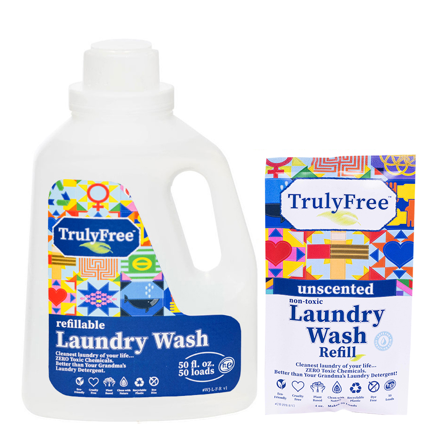 Unscented Laundry Wash